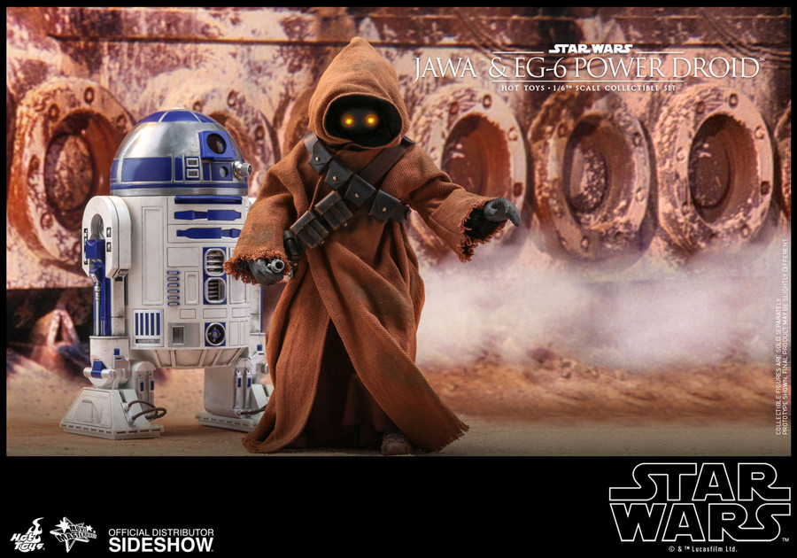 Hot Toys - Star Wars Episode IV: A New Hope - Jawa & EG-6 Power Droid