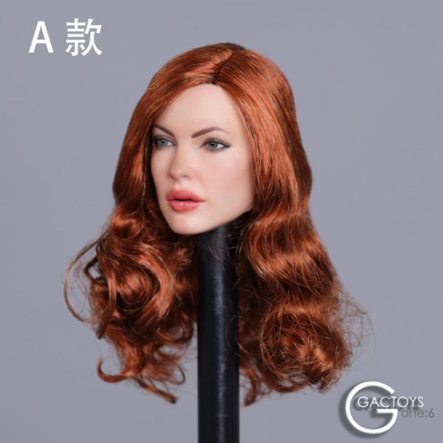 GAC Toys - Caucasian Women's Head Sculpt GAC031