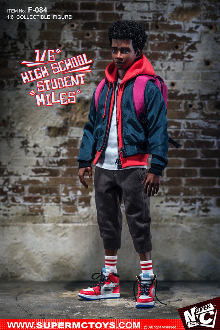 Super MC Toys - High School Student Miles Action Figure