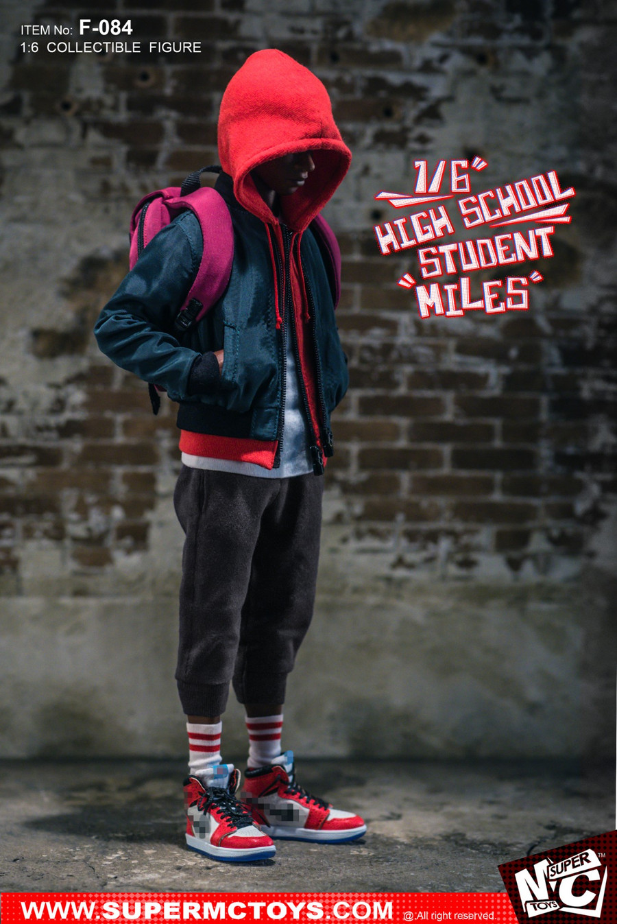 Super MC Toys - High School Student Miles Action Figure
