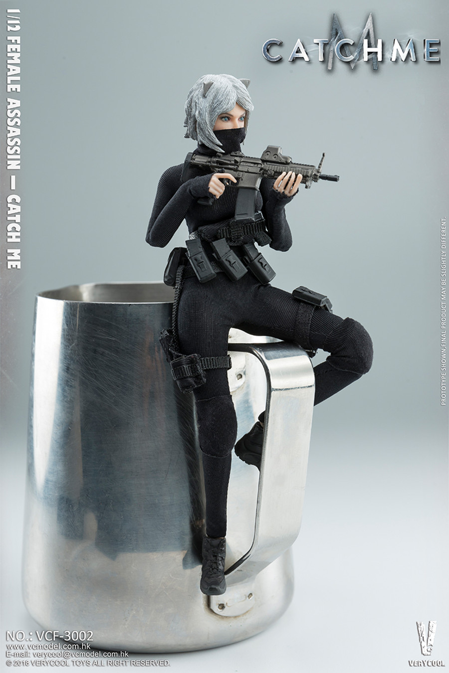 Very Cool - 1/12 Palm Treasure Series - Female Assassin Catch Me