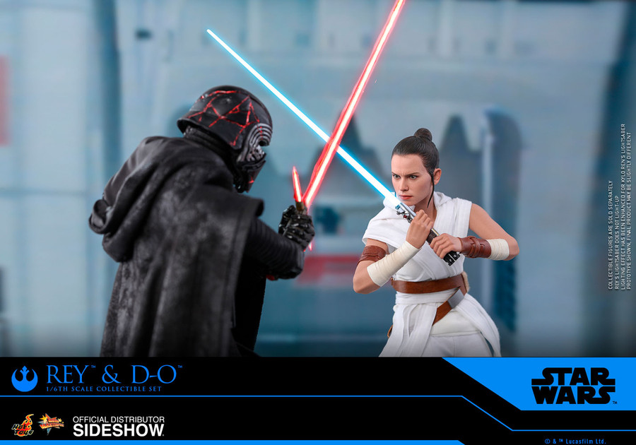 Hot Toys - Star Wars: The Rise of Skywalker - Rey and D-O