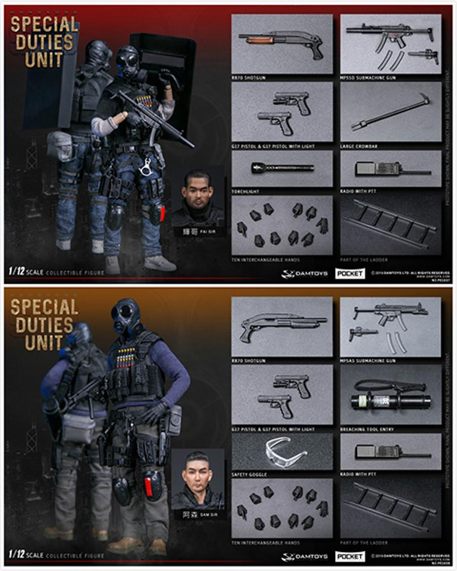 DAM Toys - 1/12 Pocket Elite Series - Hong Kong (Fai Sir) PES007