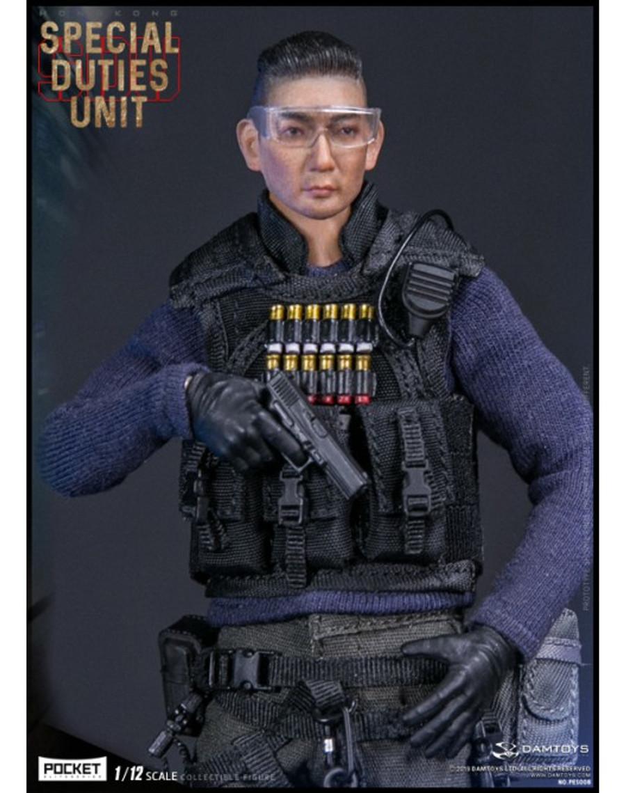 DAM Toys - 1/12 Pocket Elite Series - Hong Kong (Sam Sir) PES008