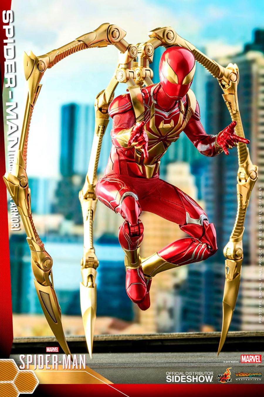 Hot Toys - Marvel's Spider-Man - Spider-Man (Iron Spider Armor)