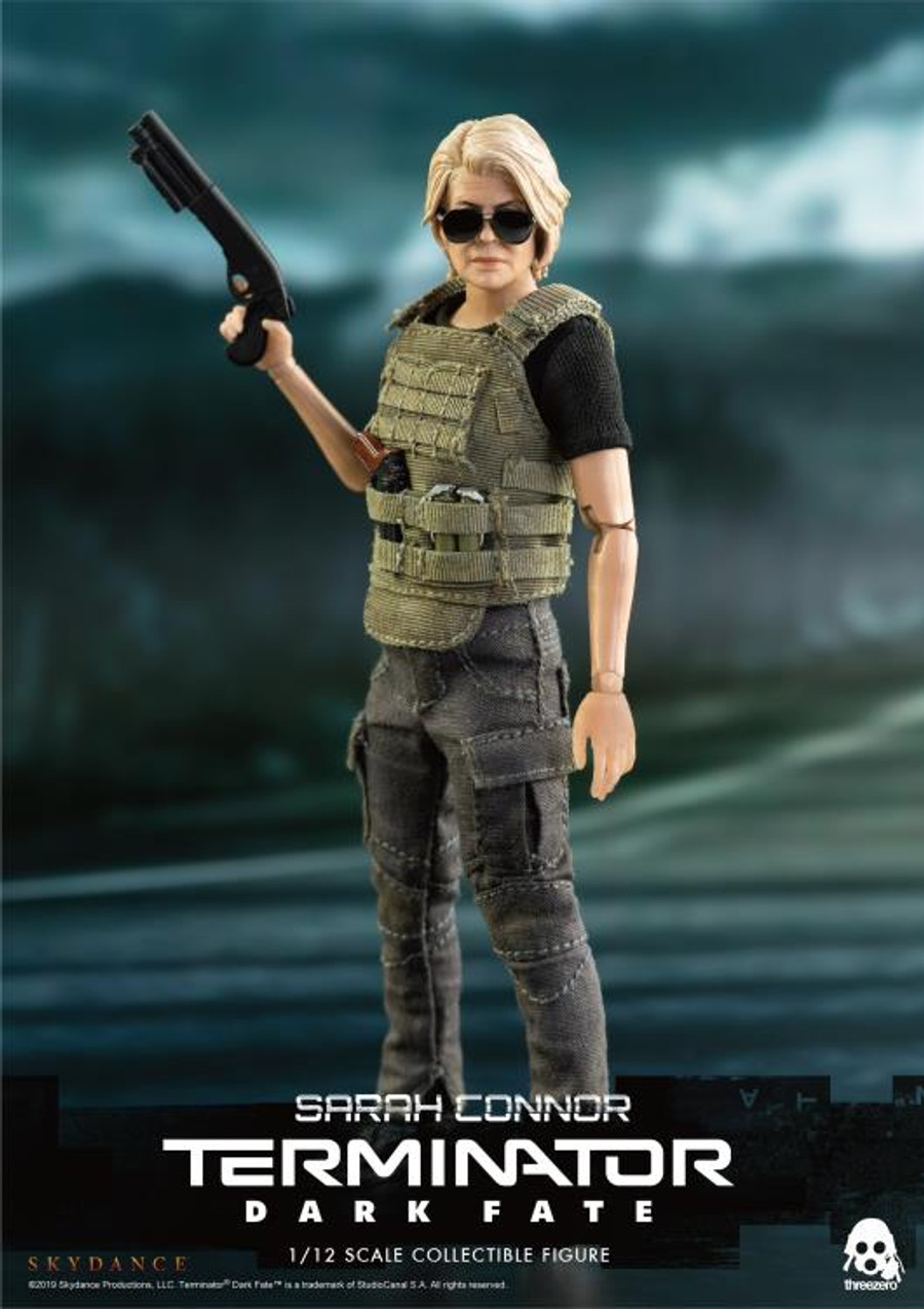 Threezero - Terminator: Dark Fate - Sarah Connor 1/12 Scale