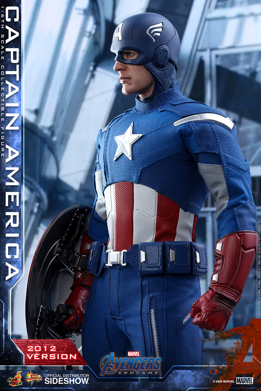 Hot Toys - Captain America 2012 Version