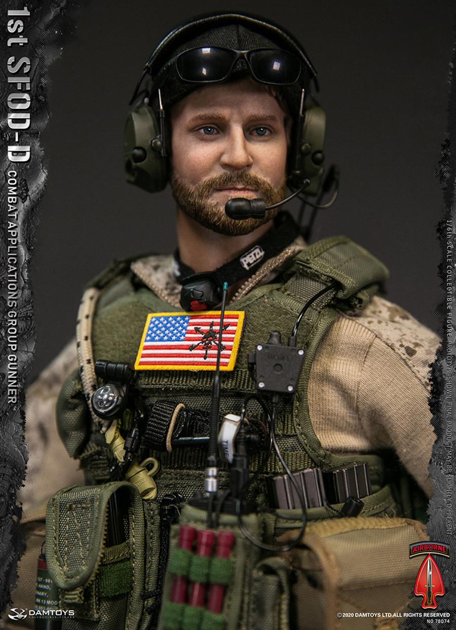 DAM Toys - 1st SFOD-D Combat Applications Group Gunner