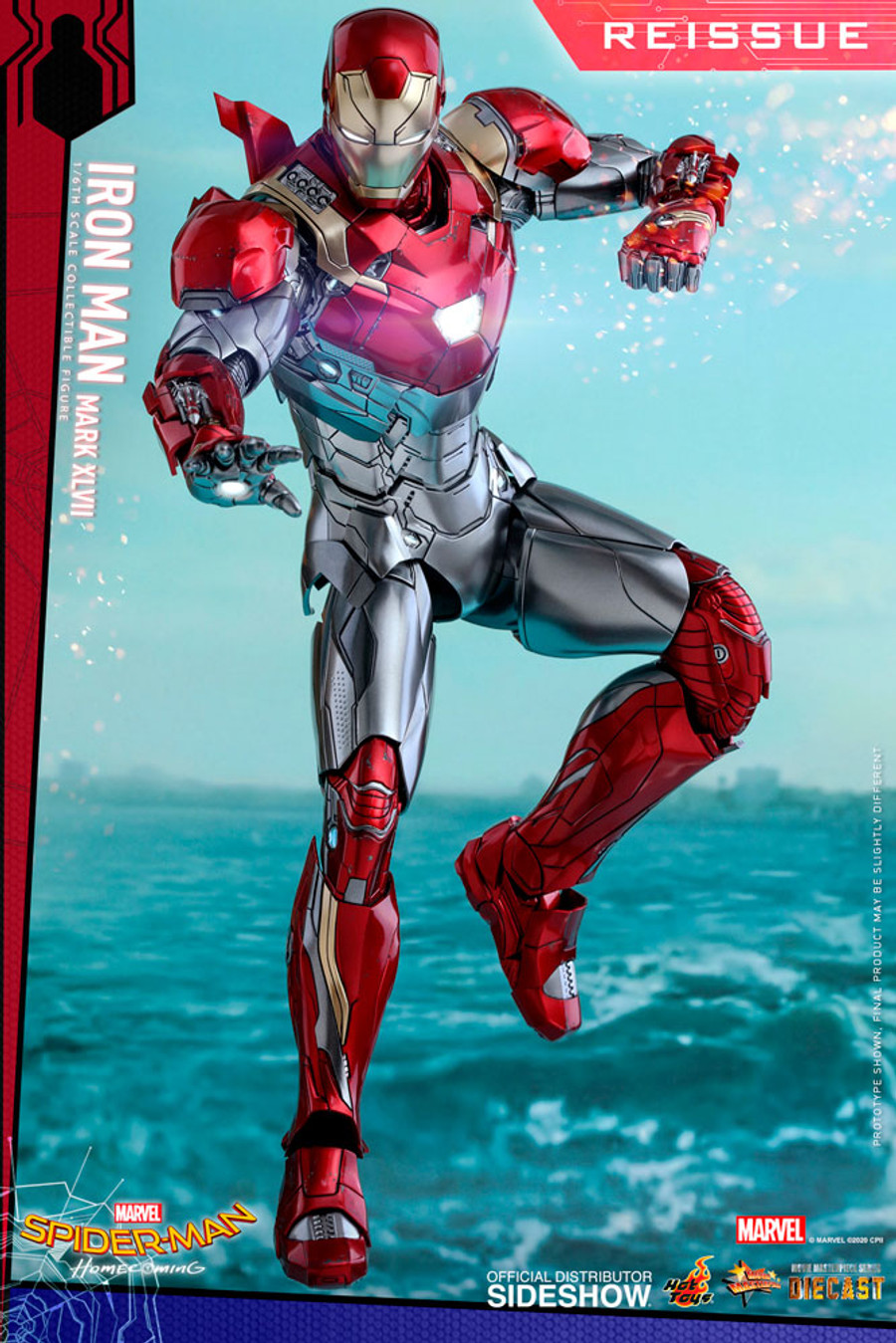 Hot Toys - Spider-Man: Homecoming - Iron Man Mark XLVII (Reissue)