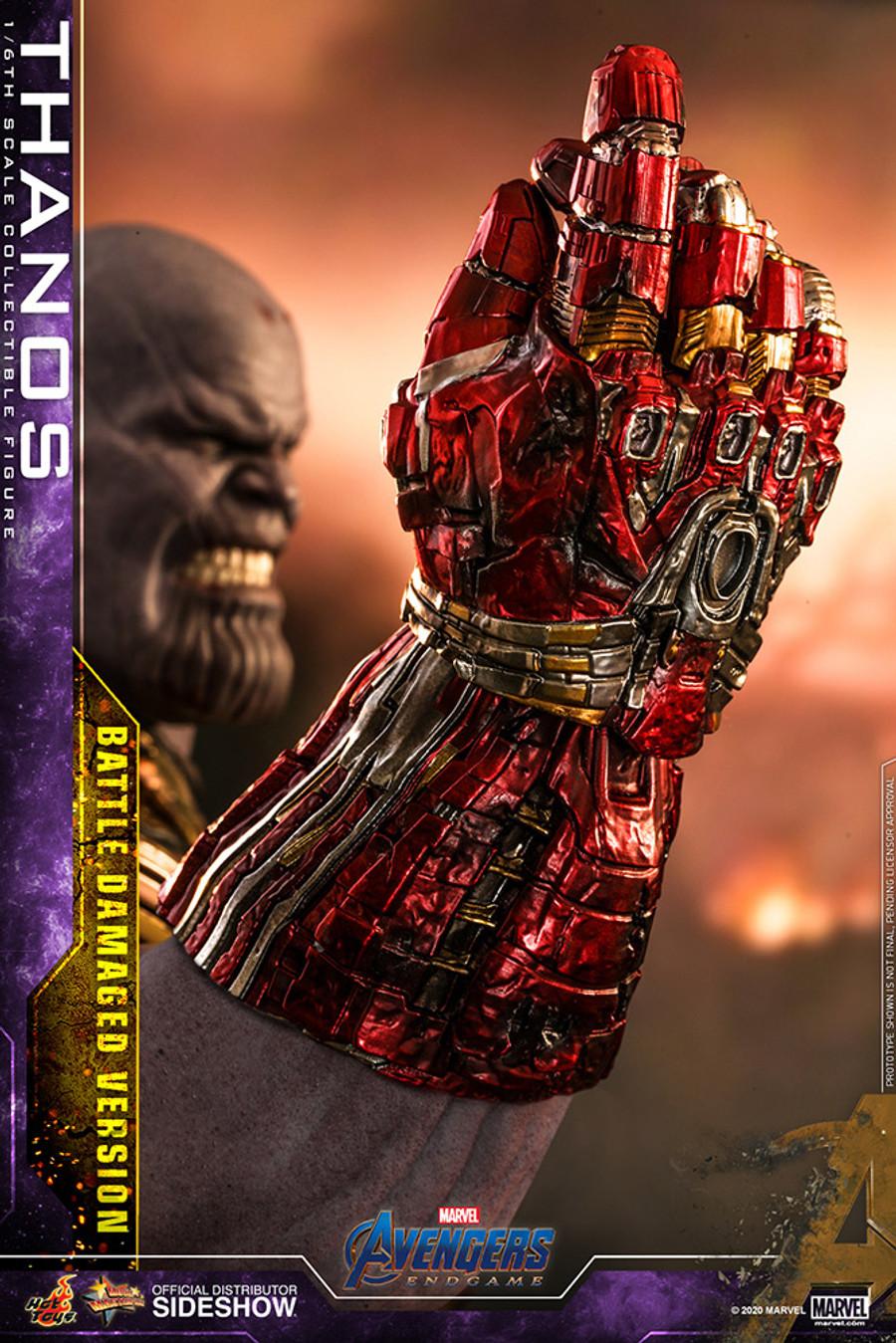Hot Toys - Avengers Endgame - Thanos (Battle Damaged Version)