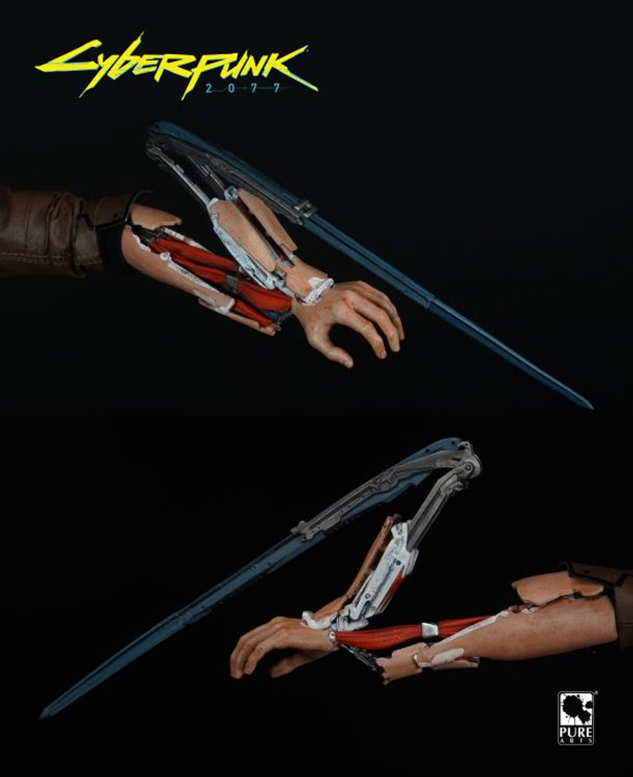 Pure Arts - Cyberpunk 2077 V Guy