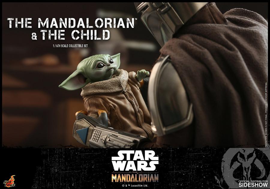 Hot Toys - Star Wars The Mandalorian - The Mandalorian and The Child Set