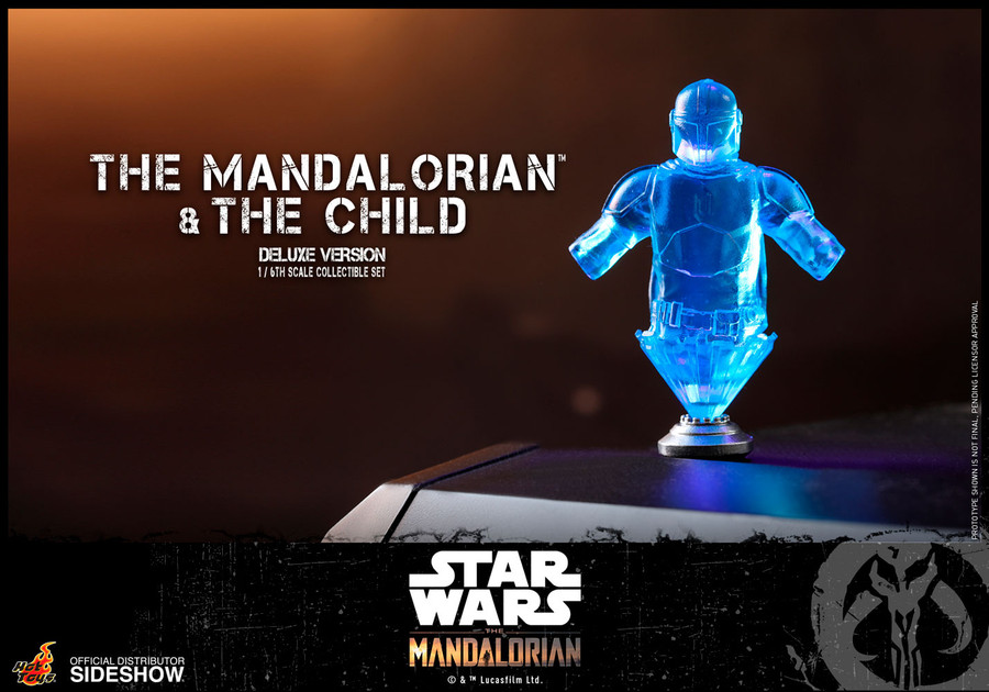 Hot Toys - Star Wars The Mandalorian - The Mandalorian and The Child Deluxe Set