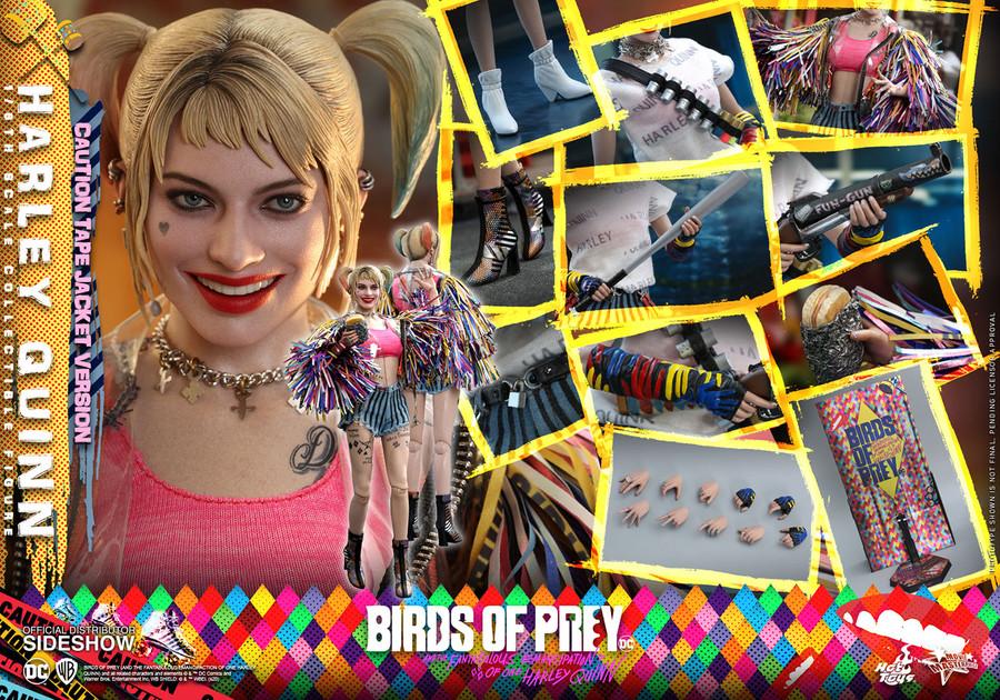 Hot Toys - Birds of Prey - Harley Quinn (Caution Tape Jacket Version)
