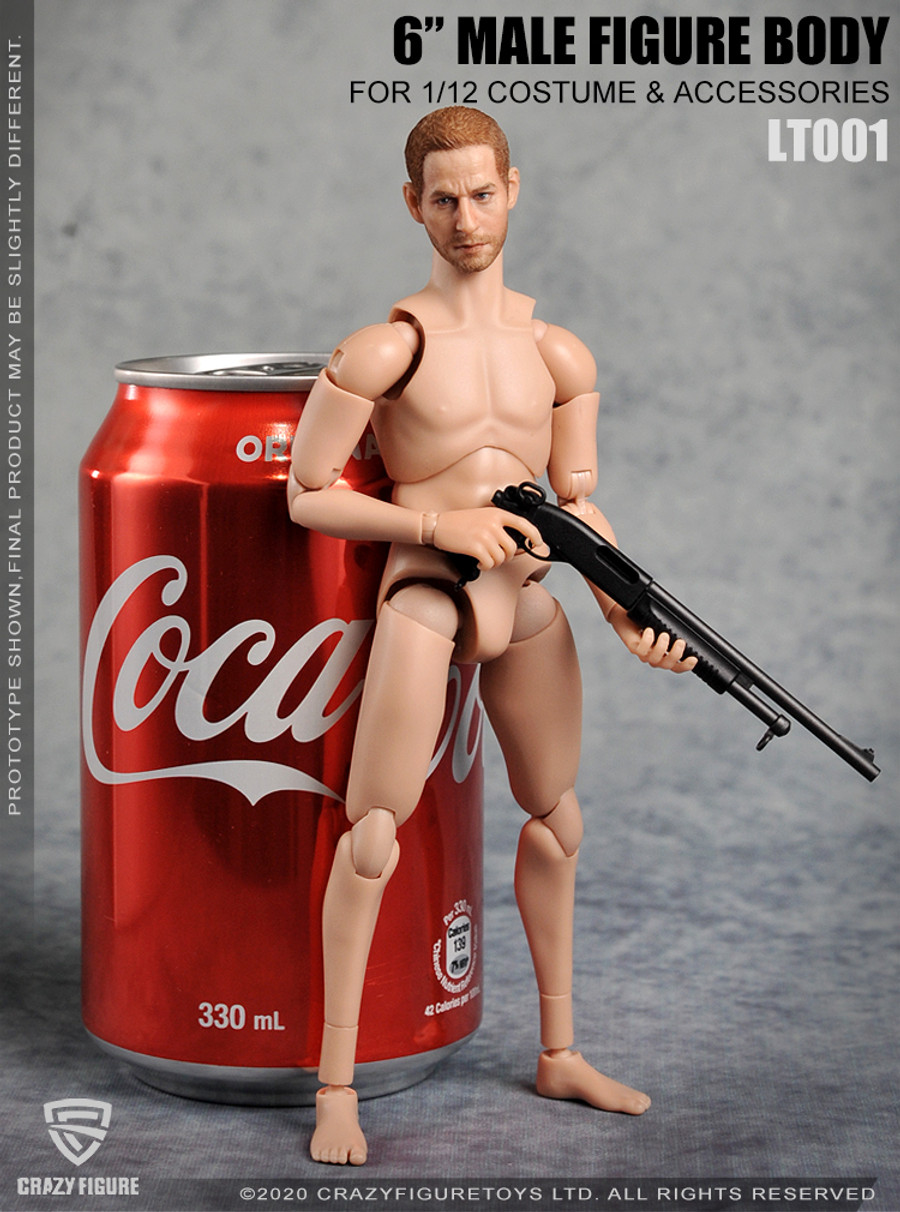Crazy Figure - 1/12 Multi Joint Movable Male Body with Neck