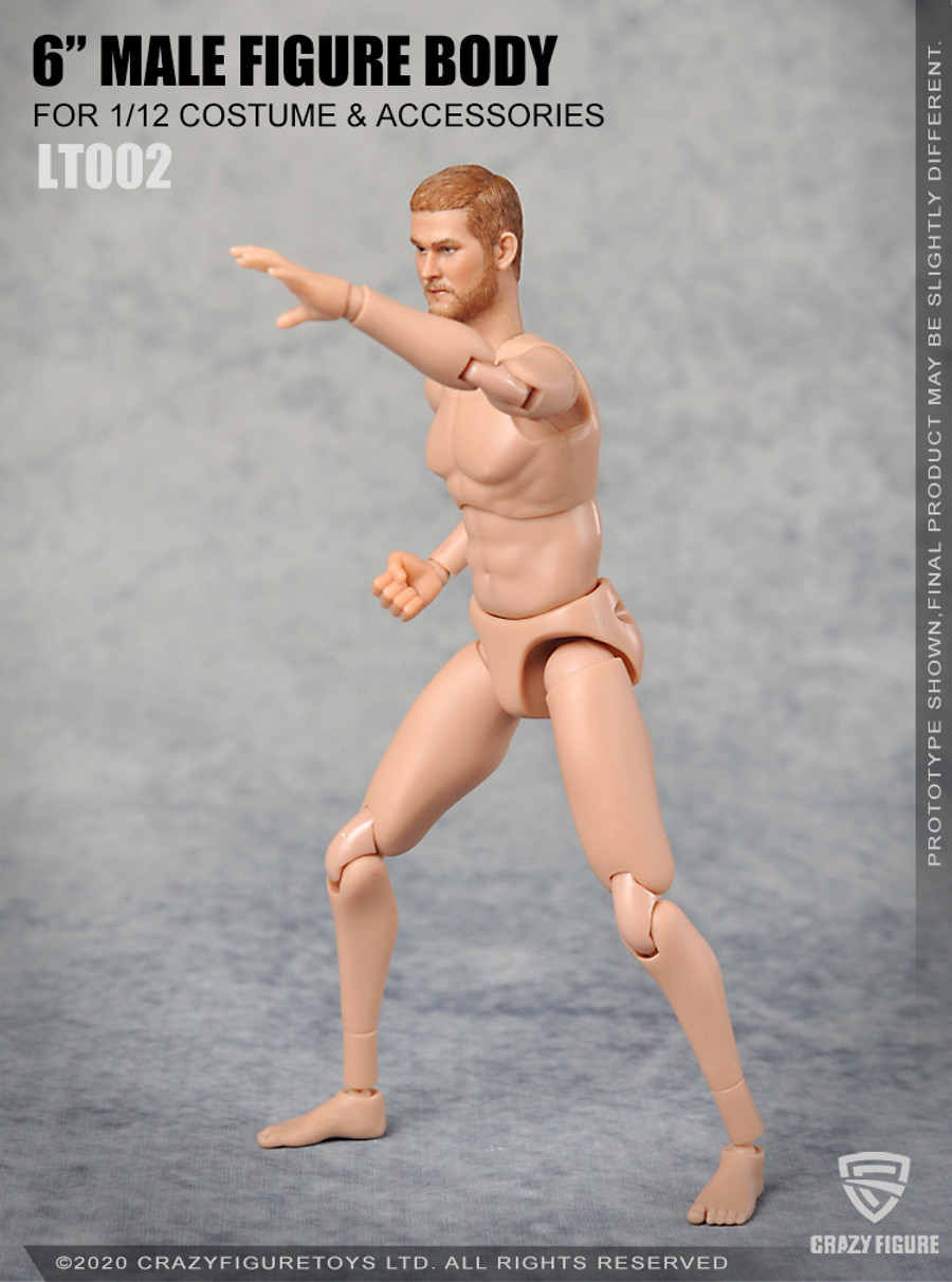 Crazy Figure - 1/12 Multi Joint Movable Male Body without Neck