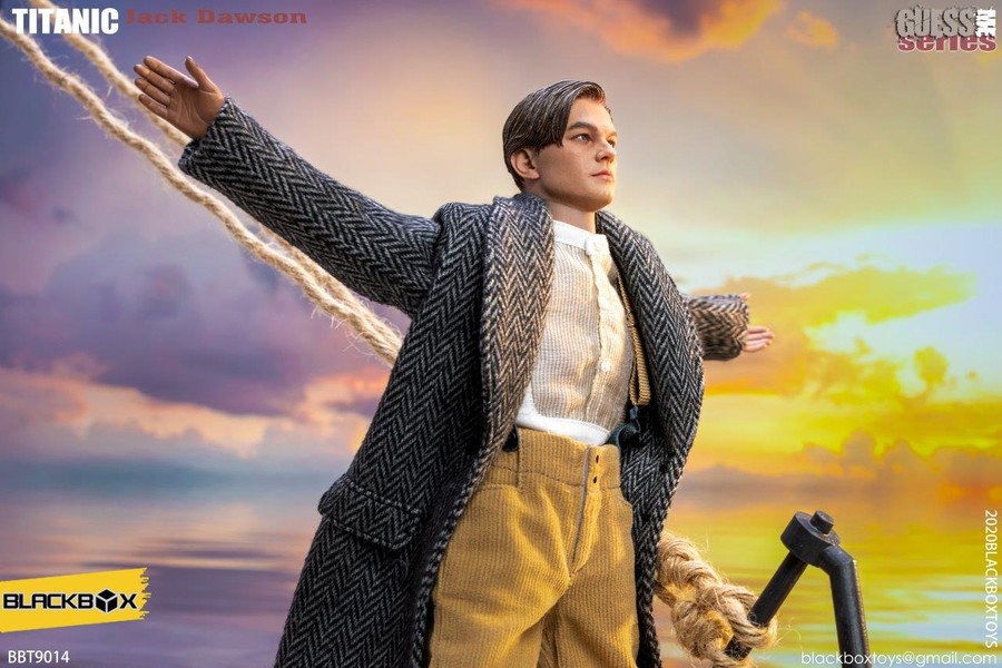 Black Box Toys - Titanic: Jack - Long Frock Coat Ver.