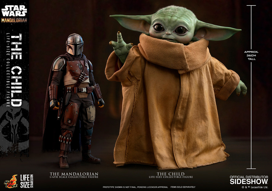 Hot Toys - Star Wars The Mandalorian - The Child Life-Size Figure