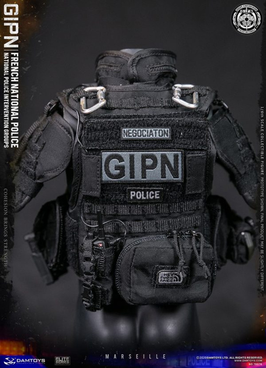 DAM Toys - Elite Series: French National Police Intervention Groups: GIPN in Marseille