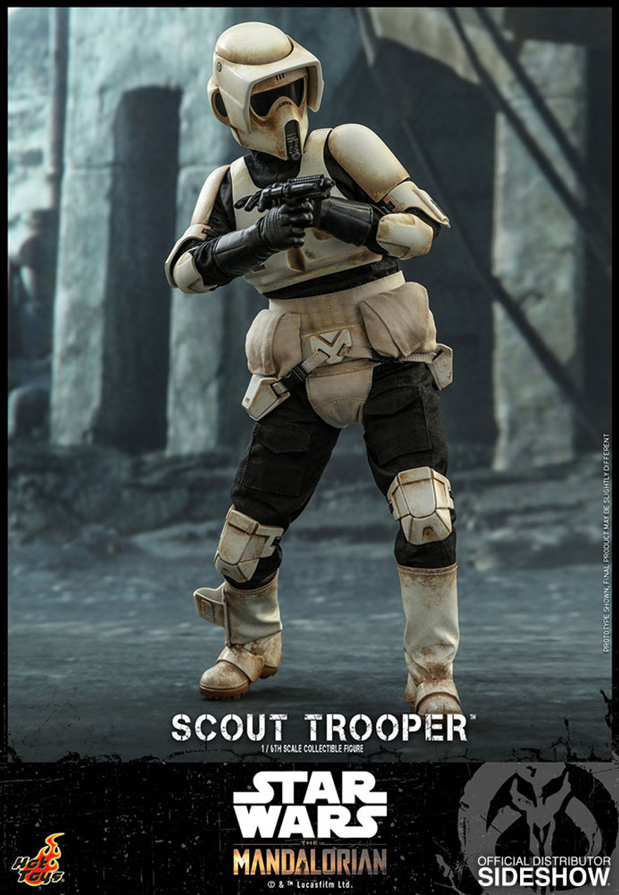 Hot Toys - Star Wars The Mandalorian - Scout Trooper