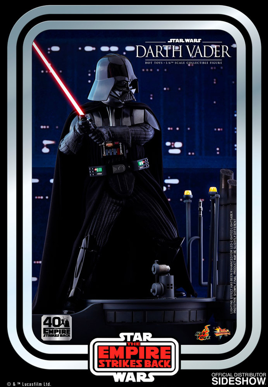 Hot Toys - Star Wars: The Empire Strikes Back 40th Anniversary Collection - Movie Masterpiece Series: Darth Vader