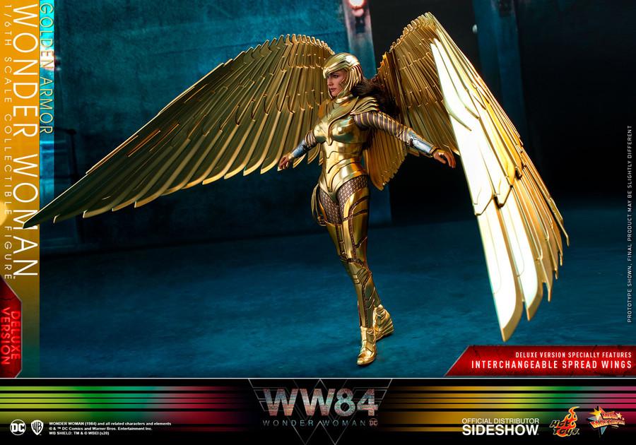 Hot Toys - Wonder Woman 1984: Golden Armor Wonder Woman (Deluxe)