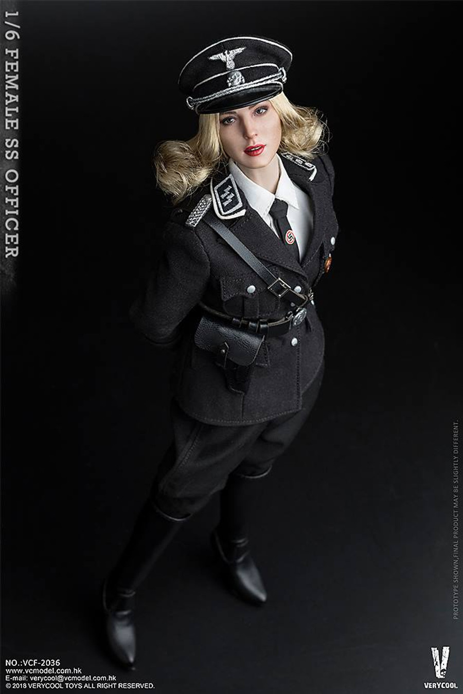 Very Cool - Female SS Officer