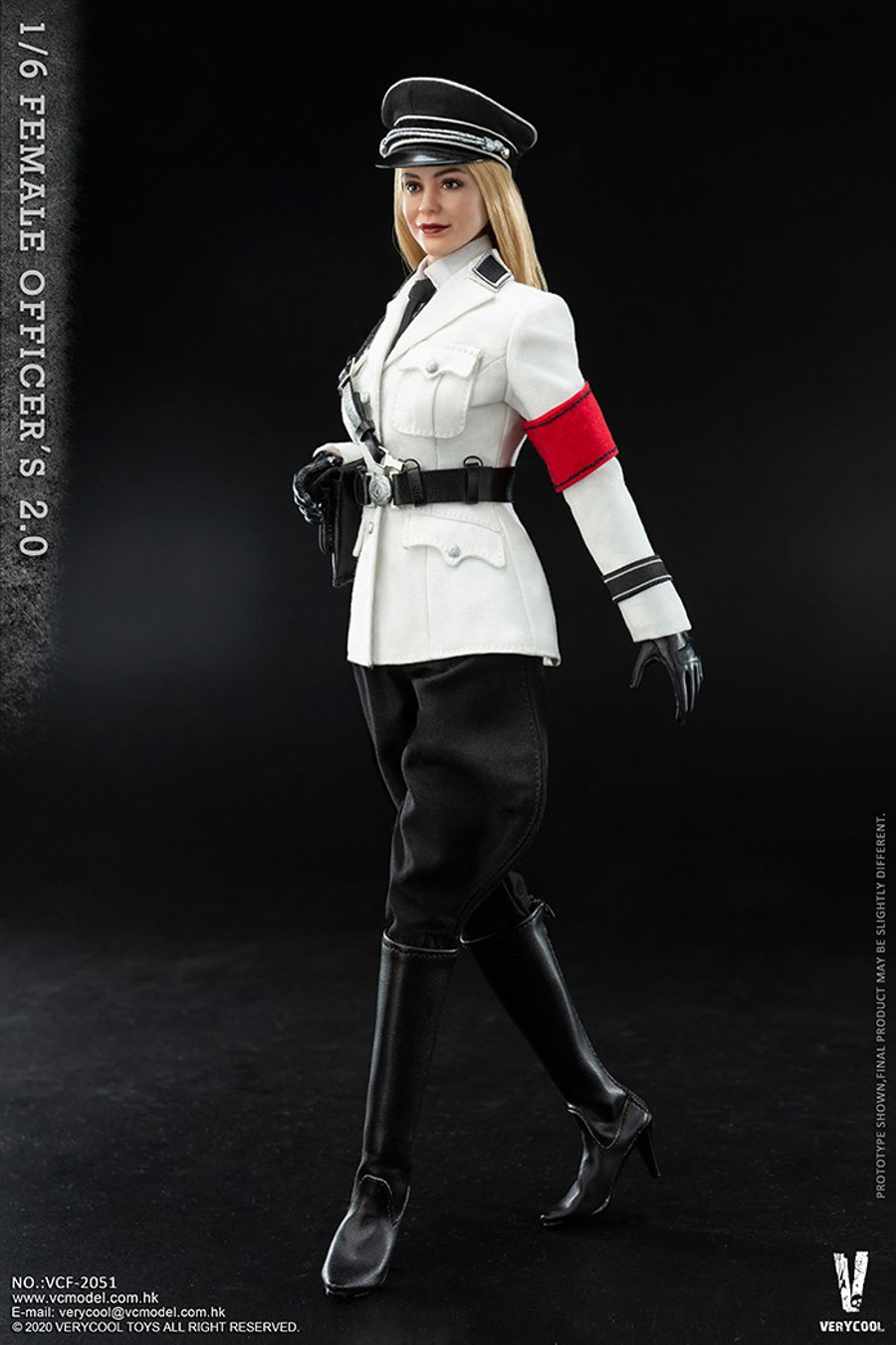 Very Cool - Female SS Officer 2.0