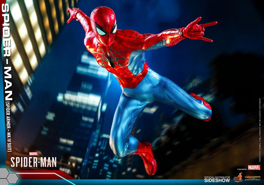 Hot Toys - Marvel's Spider-Man -  Spider-Man (Spider Armor - MK IV Suit)