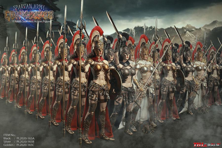 TBLeague - Spartan Army Black Commander