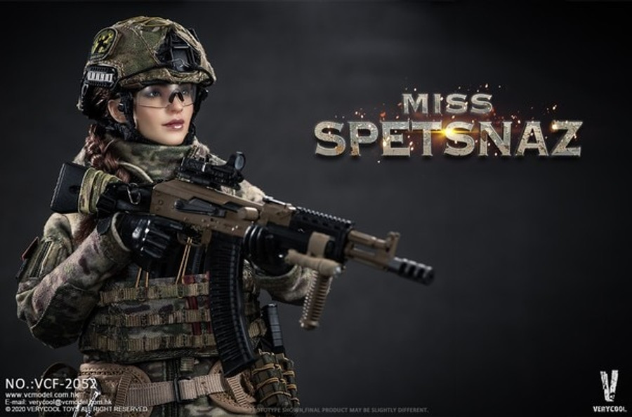 Very Cool - Russian Special Combat Female Soldier