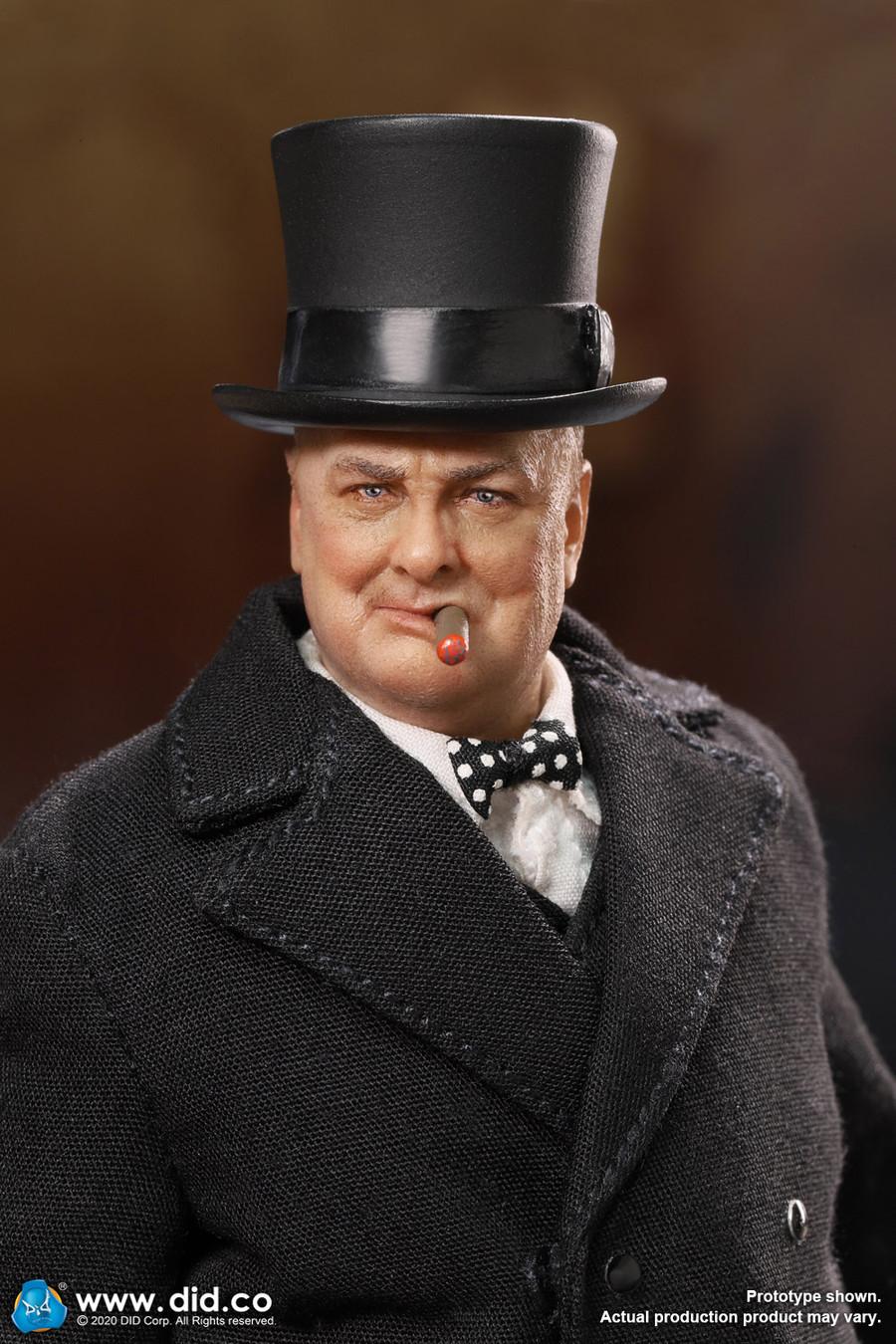 DID - 1/12 Palm Hero - Prime Minister of United Kingdom - Winston Churchill
