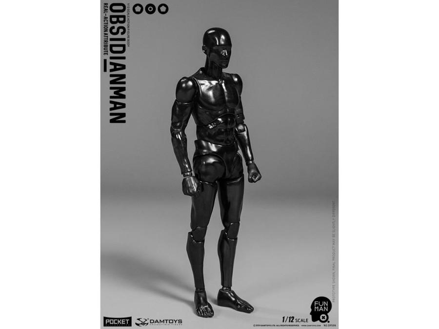 DAM Toys - 1/12 Obsidian Man