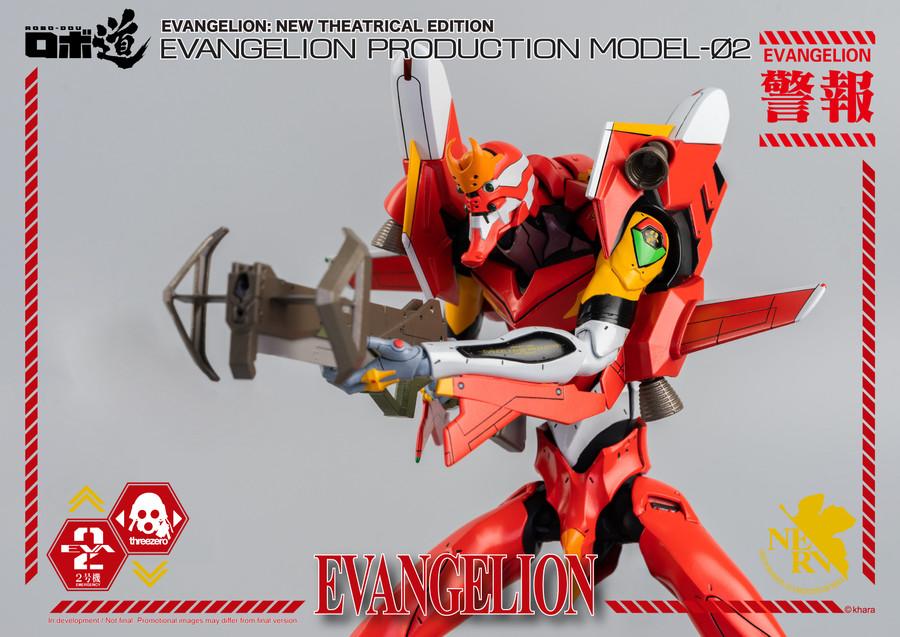Threezero - ROBO-DOU Evangelion Production Model-02