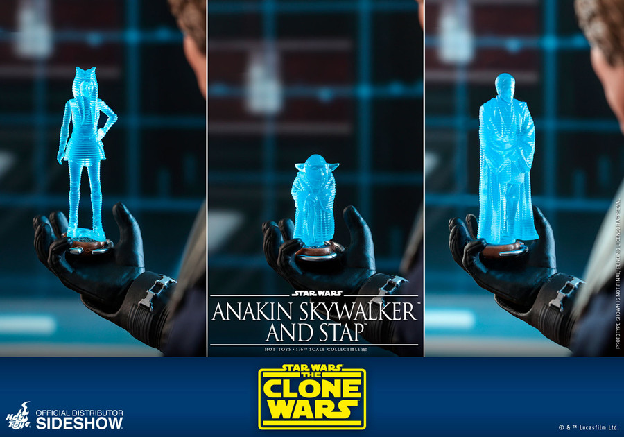 Hot Toys - Star Wars The Clone Wars - Anakin Skywalker and STAP Set