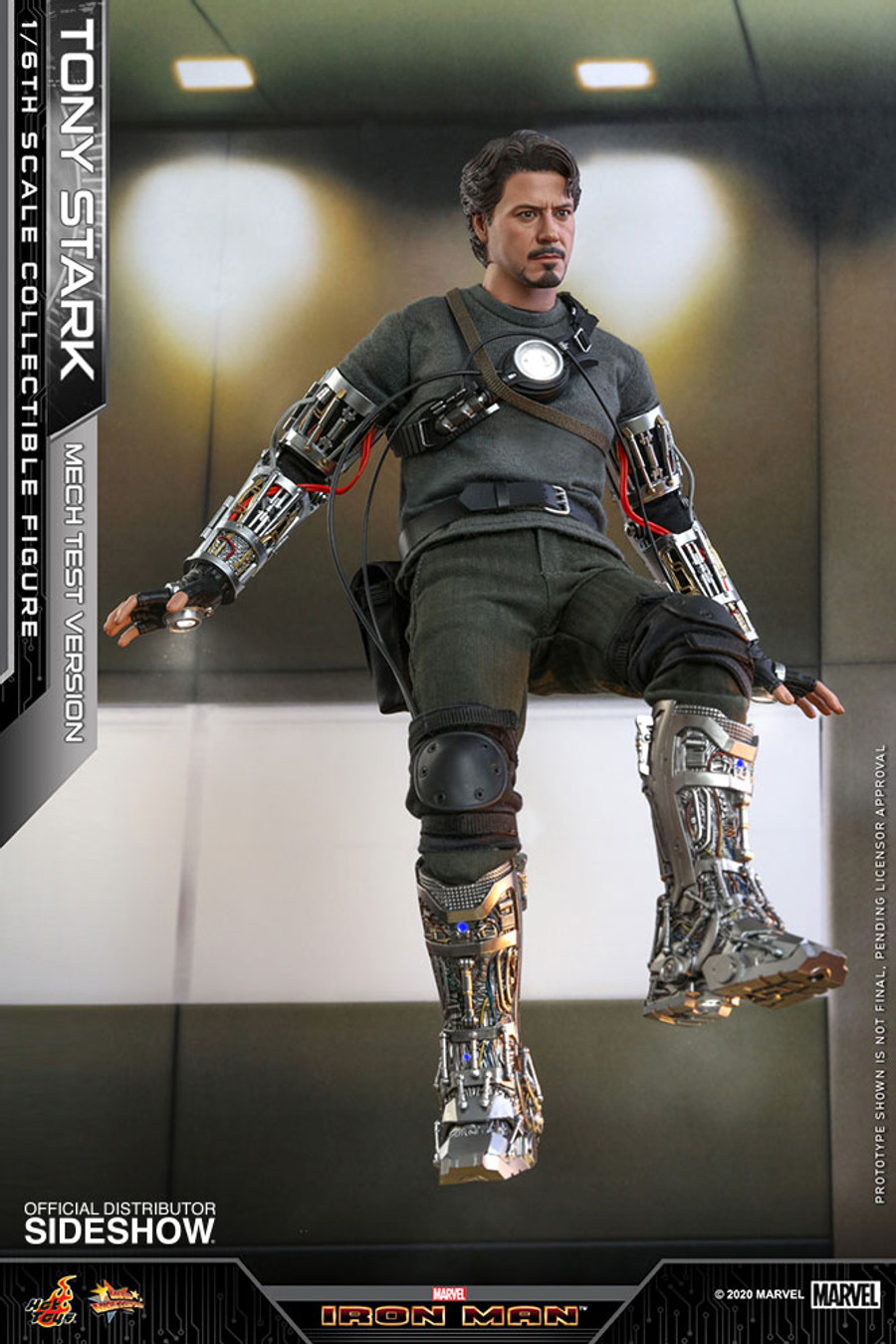 Hot Toys - Iron Man - Tony Stark (Mech Test Version)
