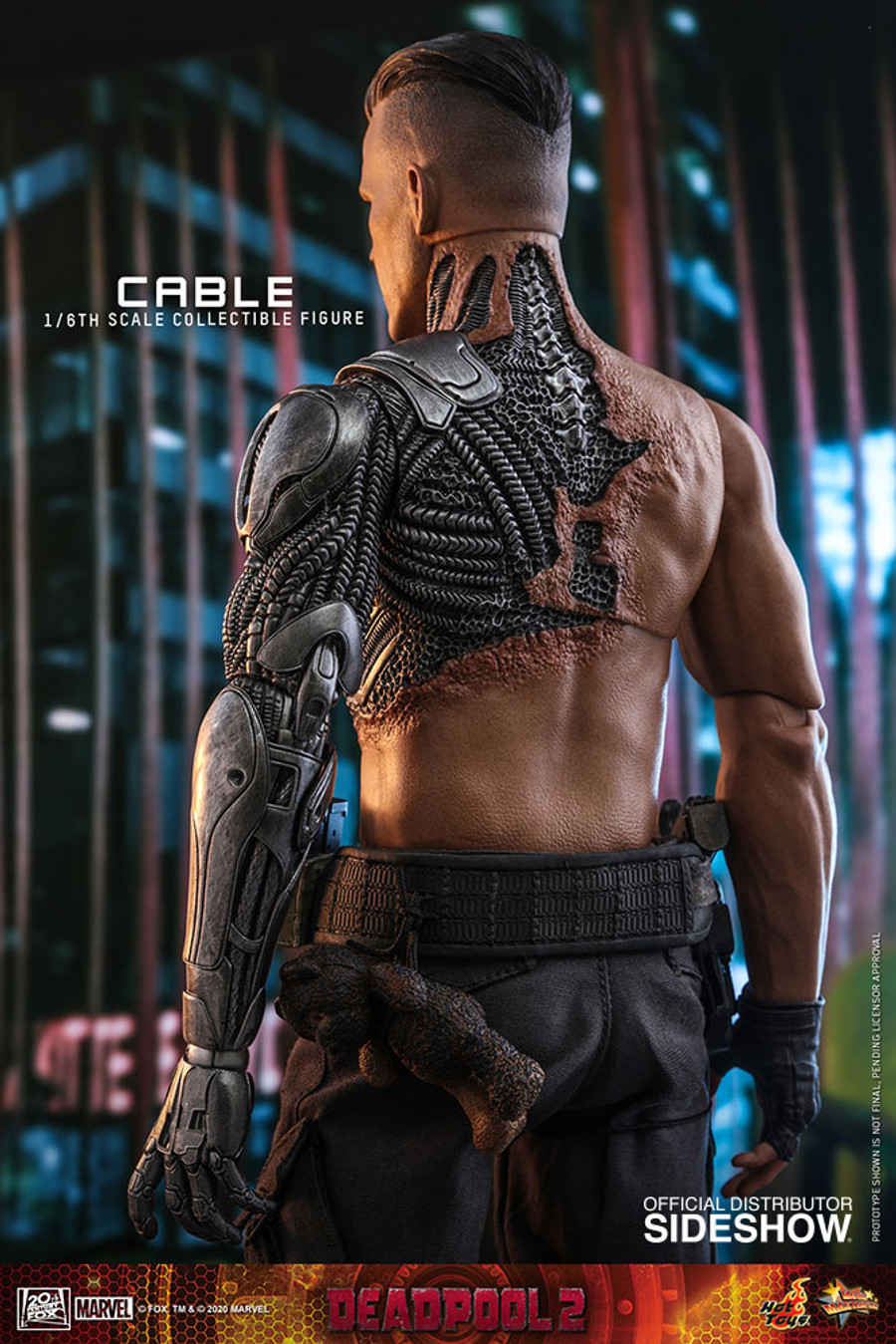 Hot Toys - Deadpool 2 - Cable