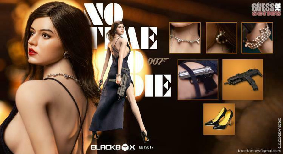 Black Box Toys - No Time To Die Girl 007 Accessory Set