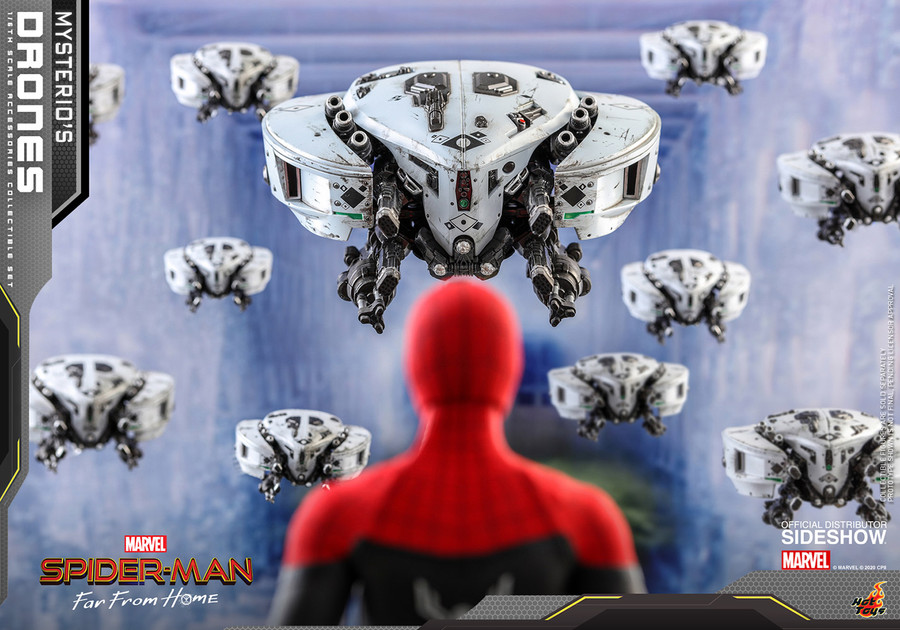 Hot Toys - Spider-Man Far From Home - Mysterio's Drones