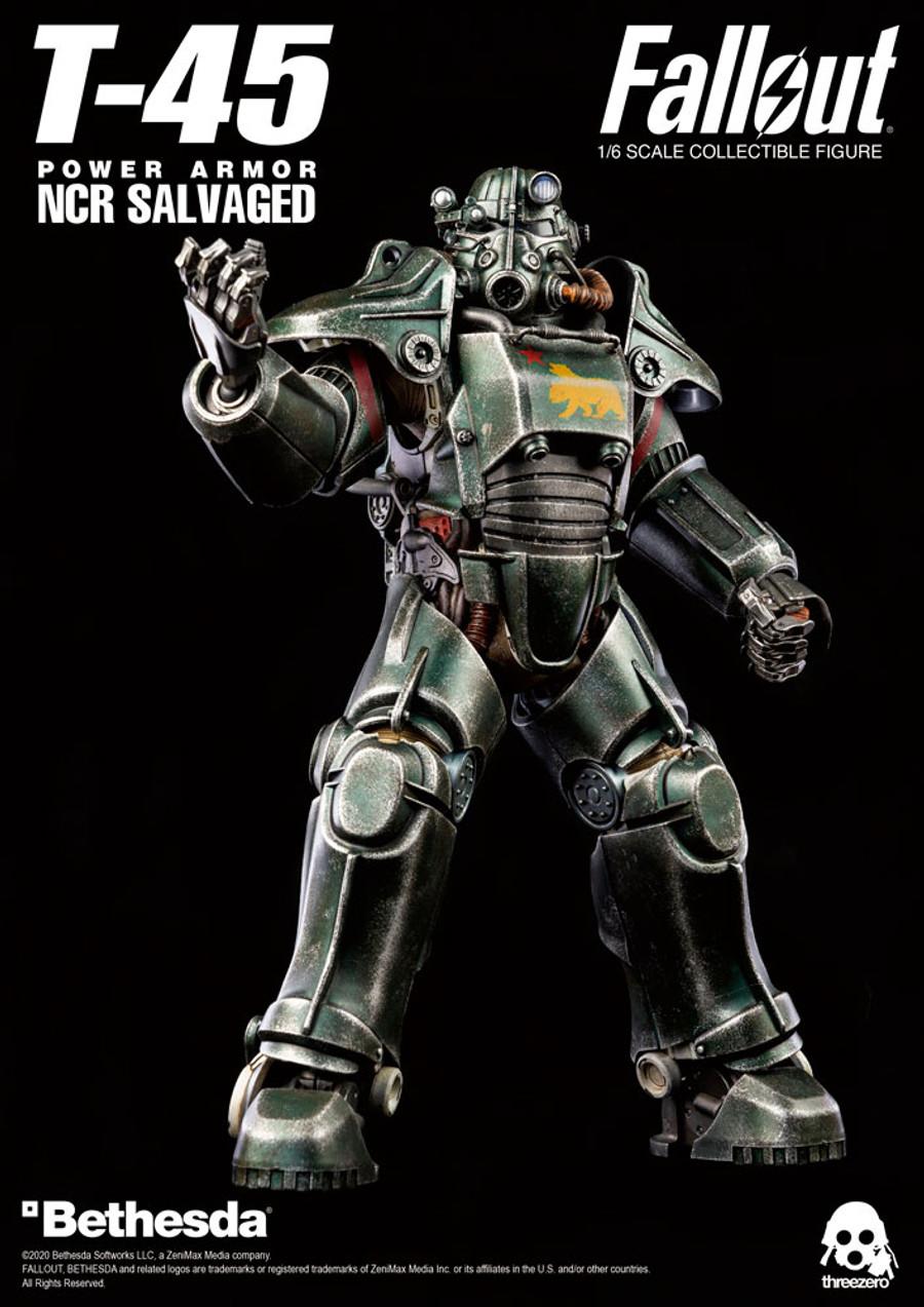 Threezero - Fallout - T-45 NCR Salvaged Power Armor