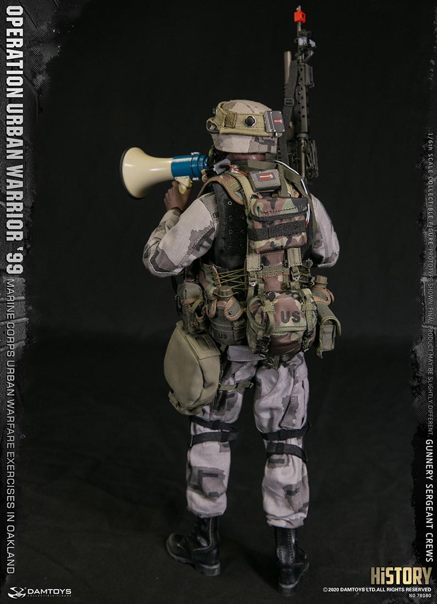 DAM Toys - Operation Urban Warrior '99 - Marine Corps Urban Warfare Exercises in Oakland Gunnery - Sergeant Crews
