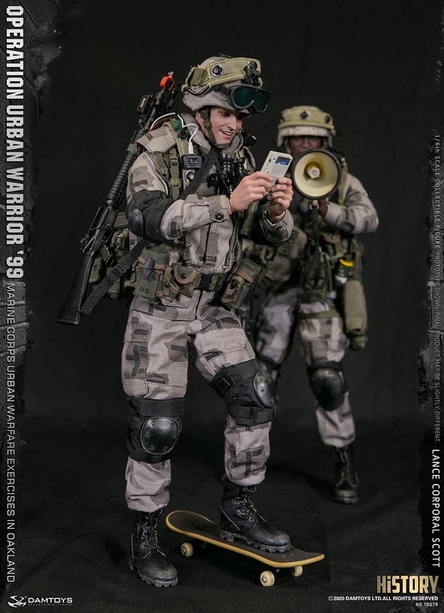 DAM Toys - Operation Urban Warrior 99 Marine Corps Urban Warfare Exercises in Oakland - Lance Corporal  Scott