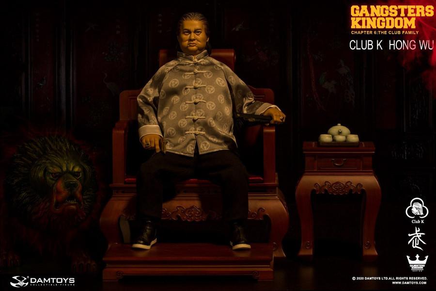 DAM Toys - Gangsters Kingdom Club K Hong Wu