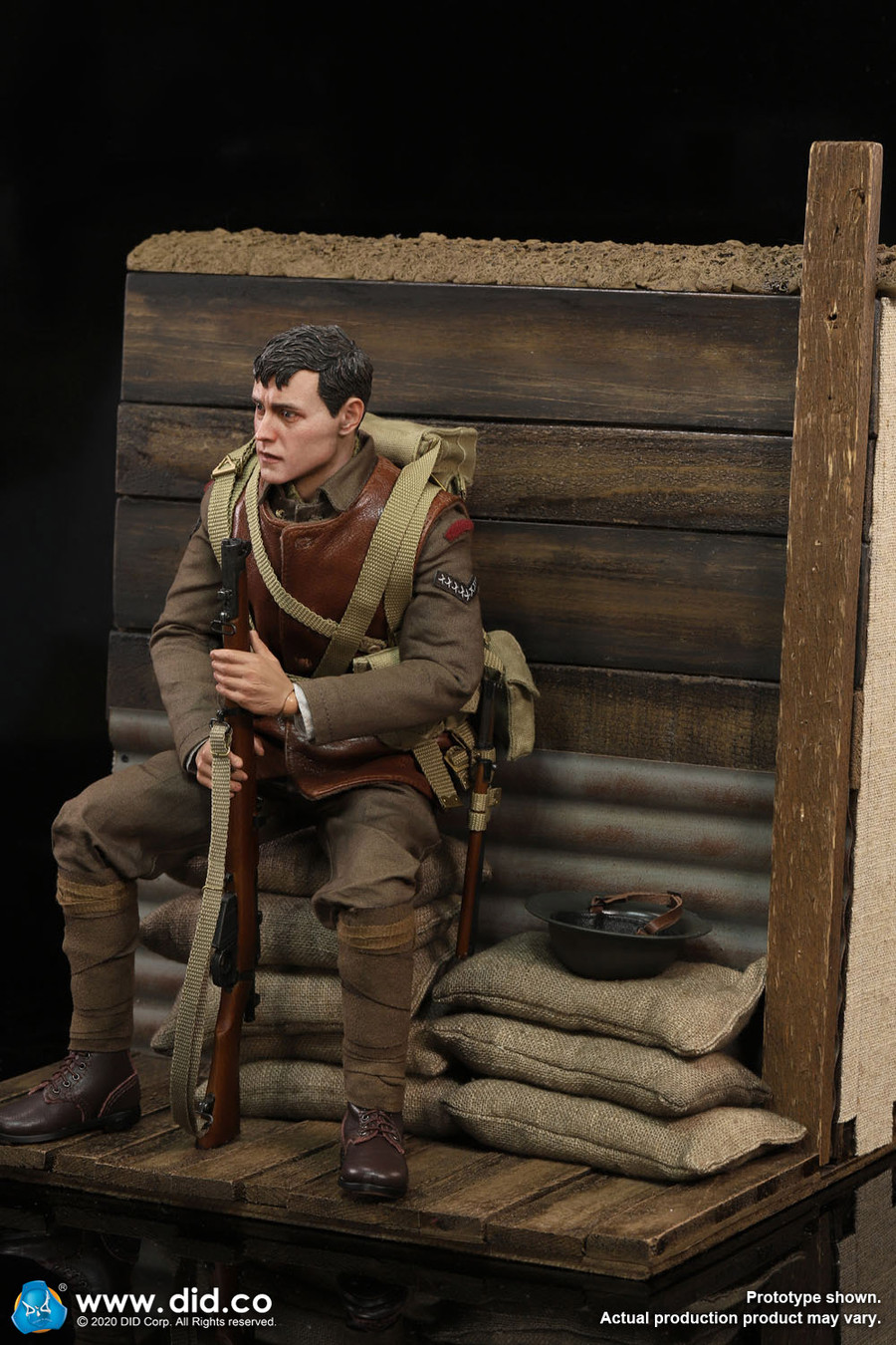 DID - WWI Trench Diorama Set