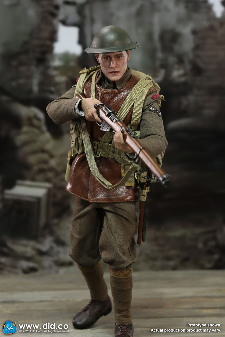 DID -  WWI British Infantry Lance Corporal William