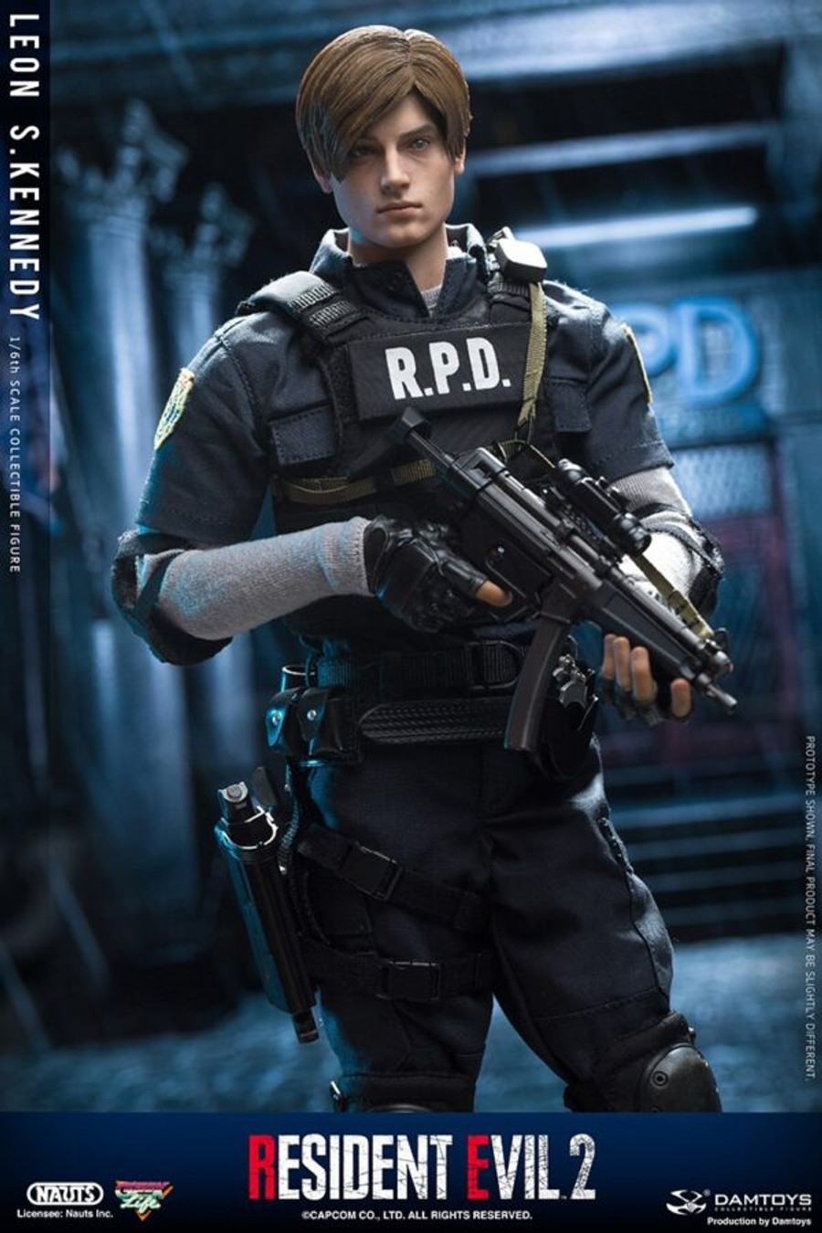 DAM Toys - Resident Evil 2: Leon S. Kennedy