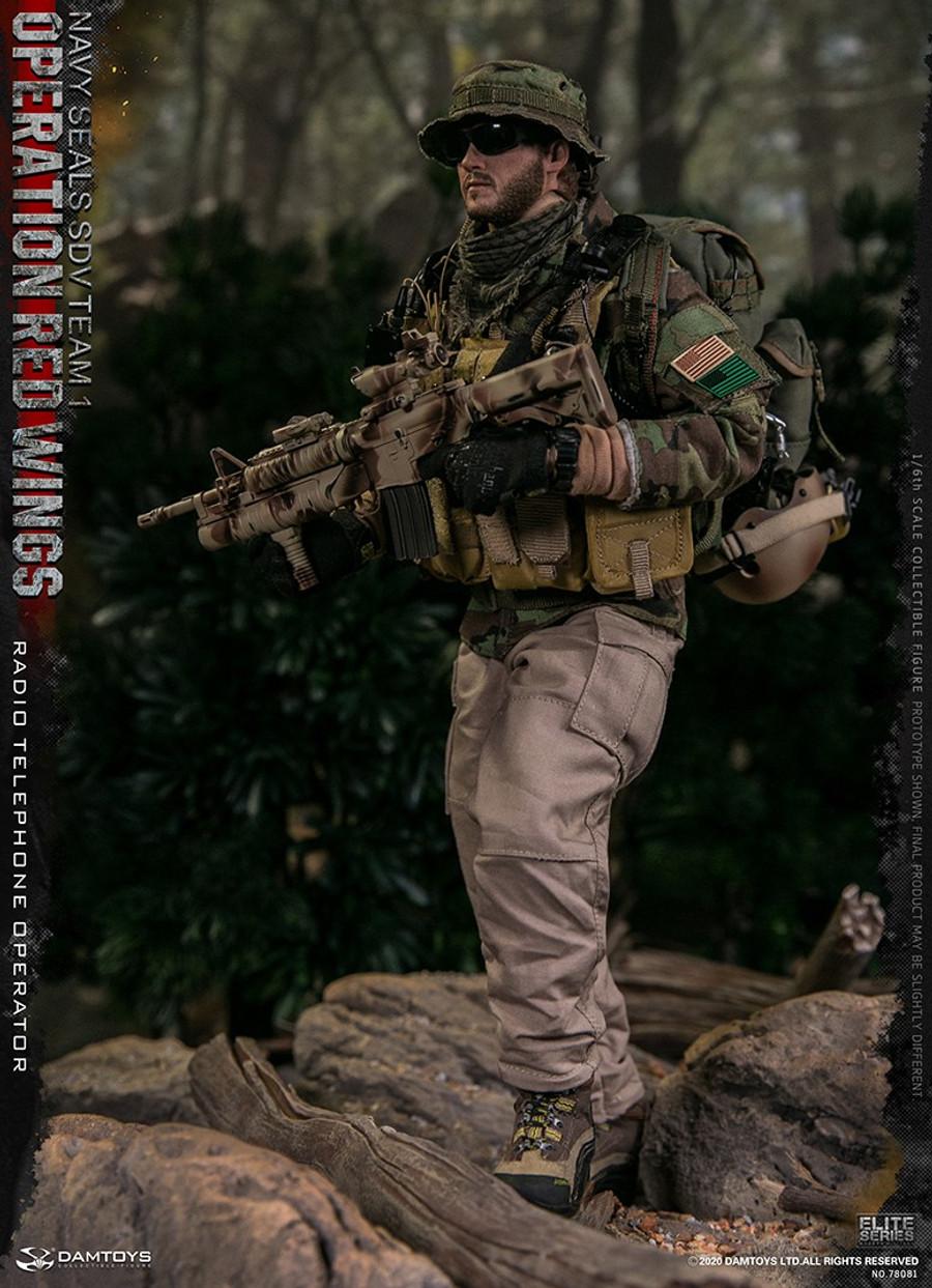 DAM Toys - Operation Red Wings NAVY SEALS SDV Team 1 Radio Telephone Operator