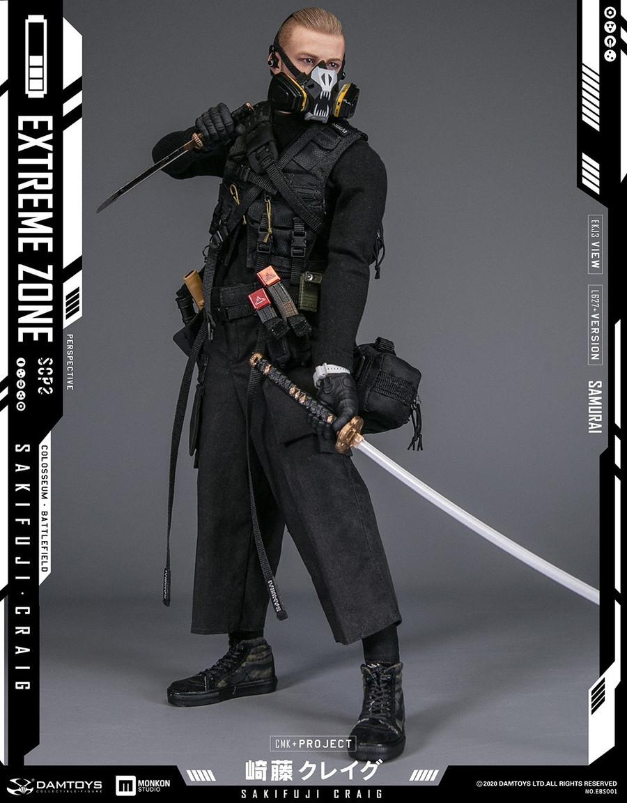 DAM Toys - Extreme Zone Samurai Sakifuji Craig