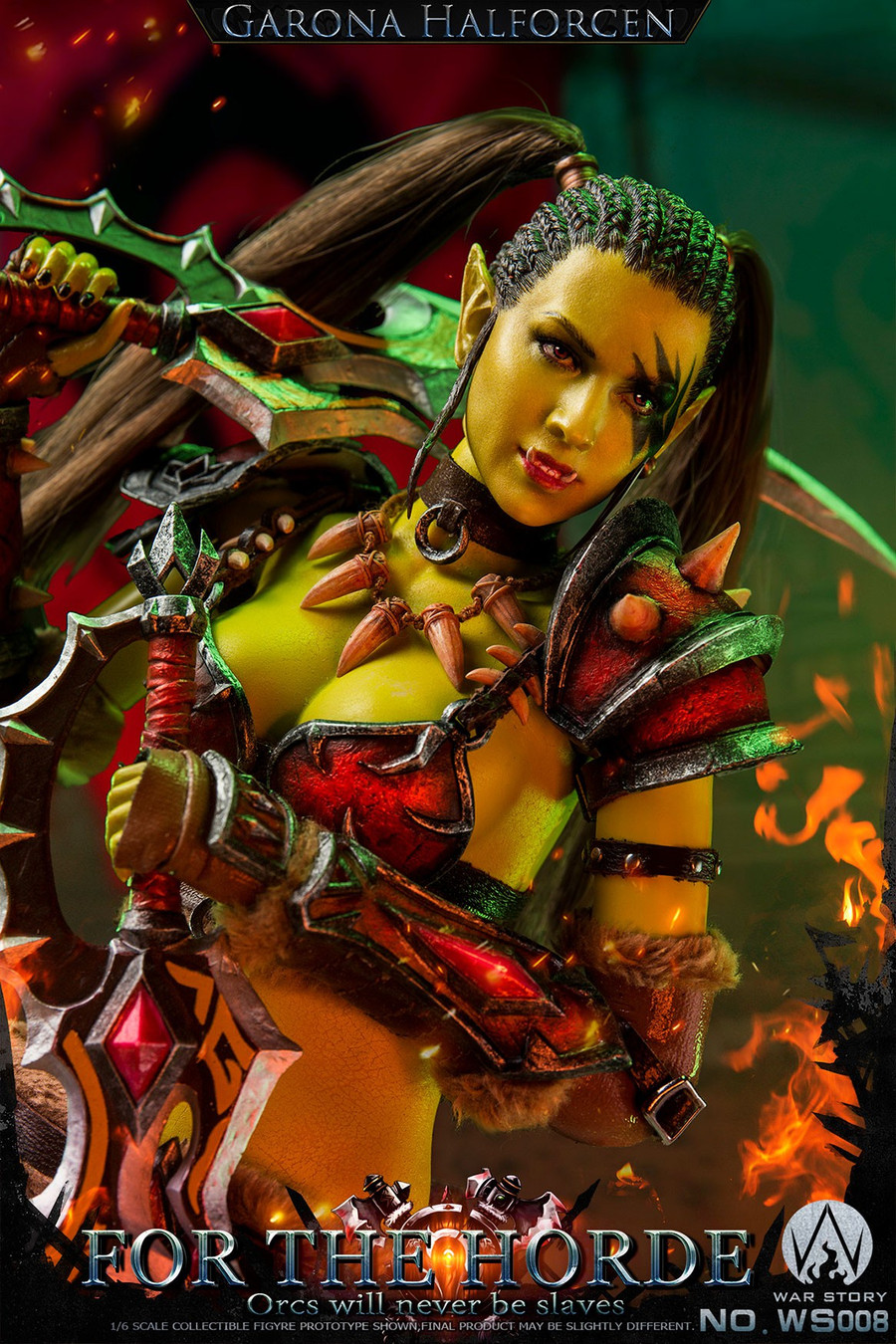 War Story - Orc Female Assassin for the Tribe