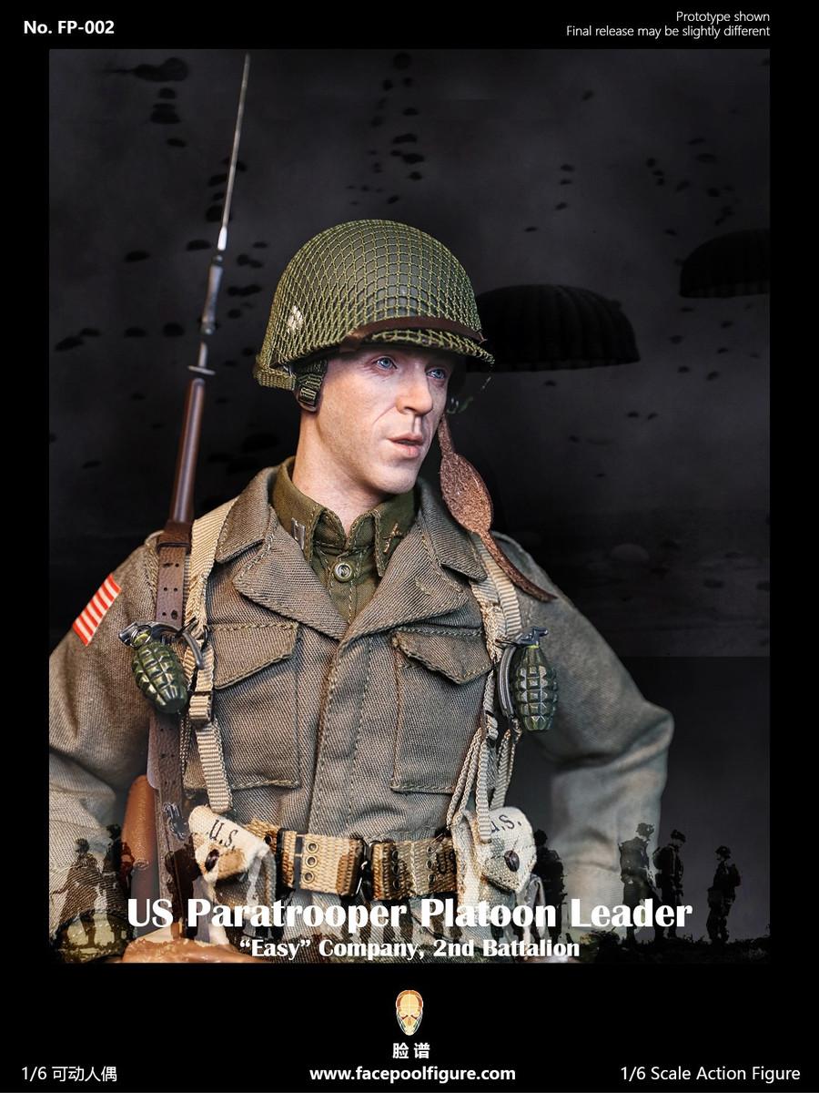 Facepoolfigure - US Paratrooper Platoon Leader Easy Company Special